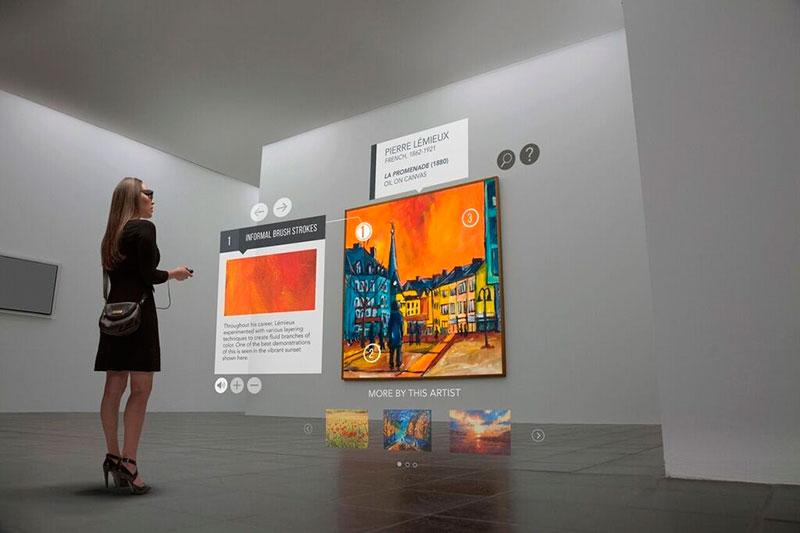 VR en museos