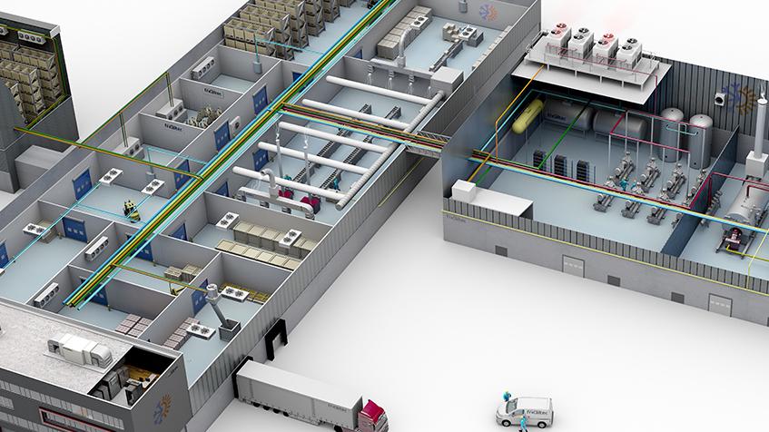 Plantas industriales en 3D